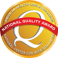 Gold AHCA - Excellence in Quality